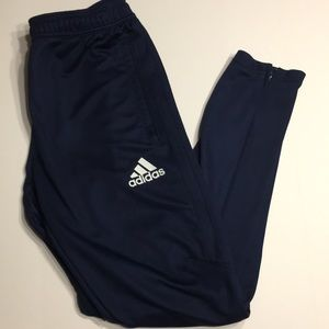 Navy Blue Adida Jogger Sweats